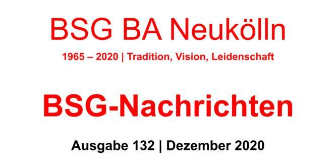 BSG-Nachrichten #132 stehen zum Download bereit